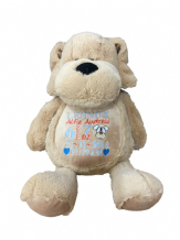 Personalised Soft Toy Dog Cuddly Teddy